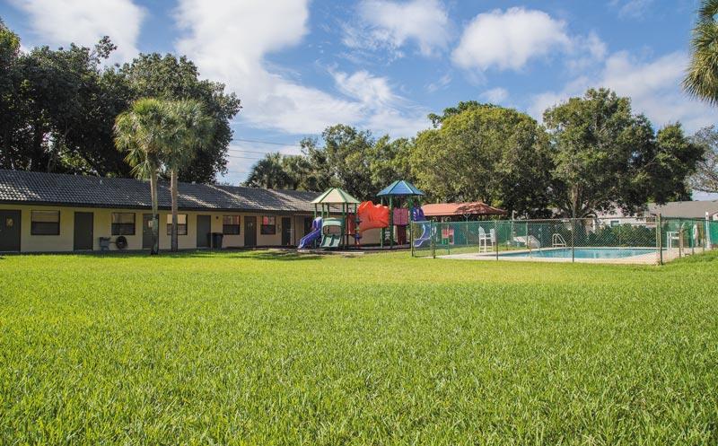 Developmental Preschool and Kindergarten playground